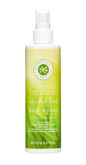 Organic Botanical Herbal Mint Alcohol-Free Hair Spray