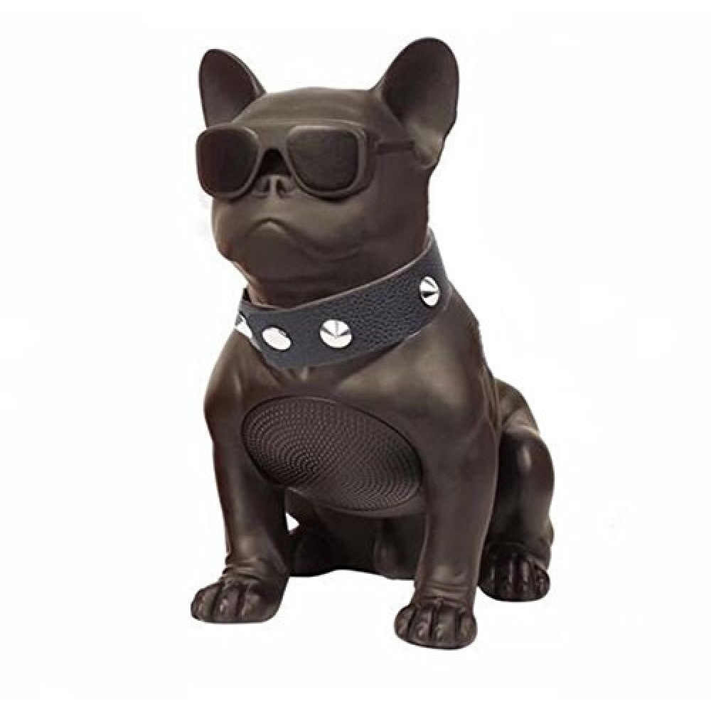 Black Mini Bulldog Portable Bluetooth Speaker