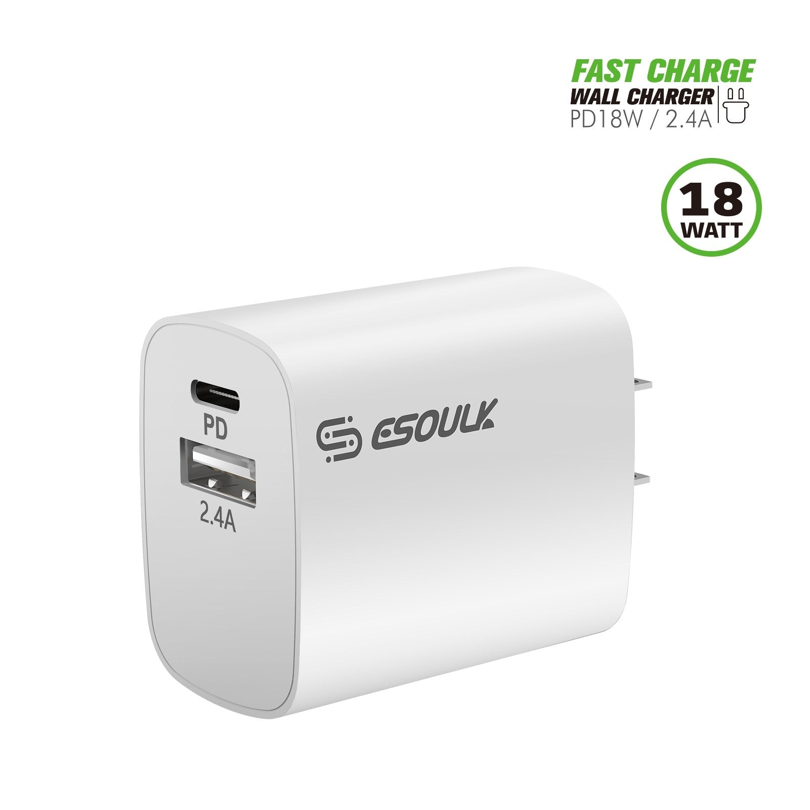 Fast Charging Wall Charger | Charge Devices In Half The TIme!