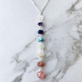 Sterling Silver Chakra Necklace - GET ON THE WAITLIST