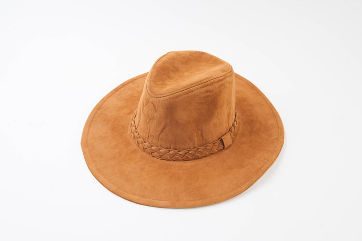 doc holiday hat - toffee