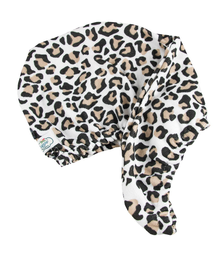 Hair Turban - Leopard