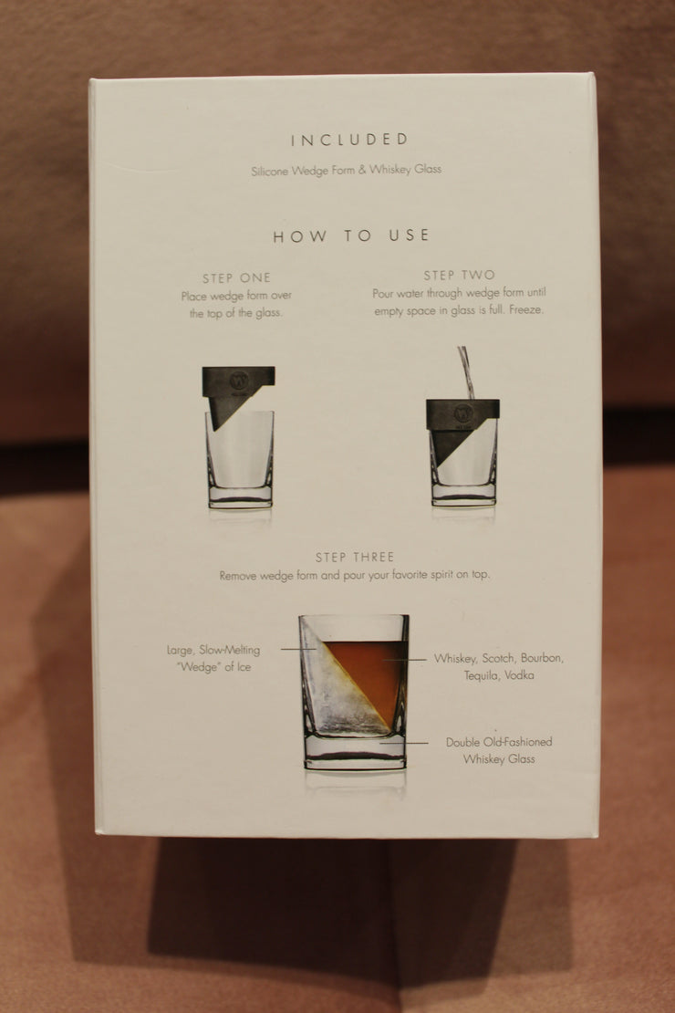 Corkcicle: Whiskey Wedge