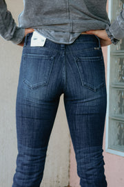 the cora jean - dark wash