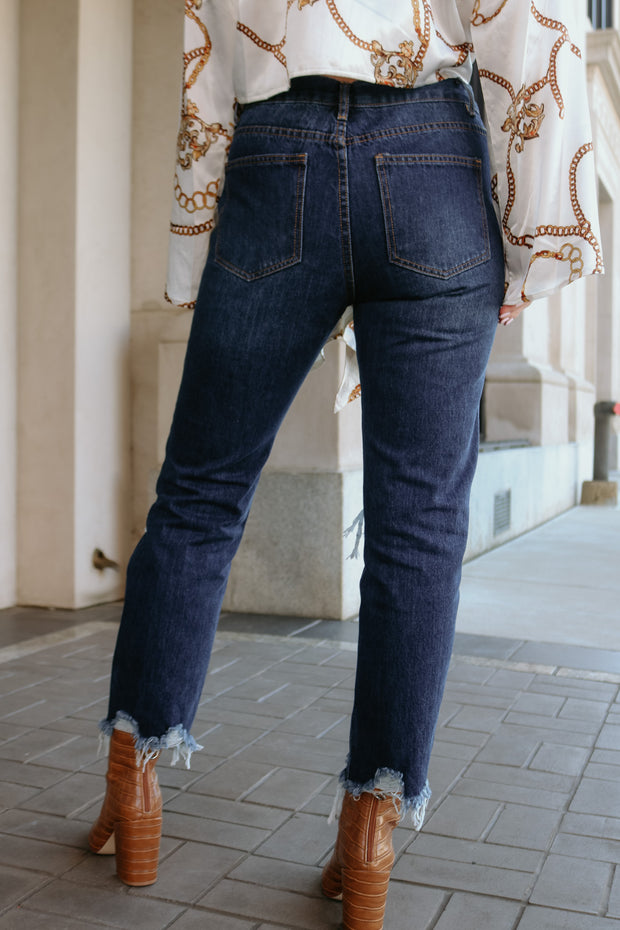 buddy love: the rosco jean - dark blue