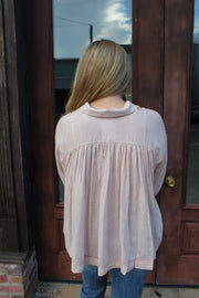 on my mind flare top - ginger