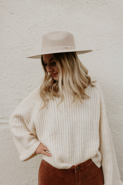 madly in love sweater - cream
