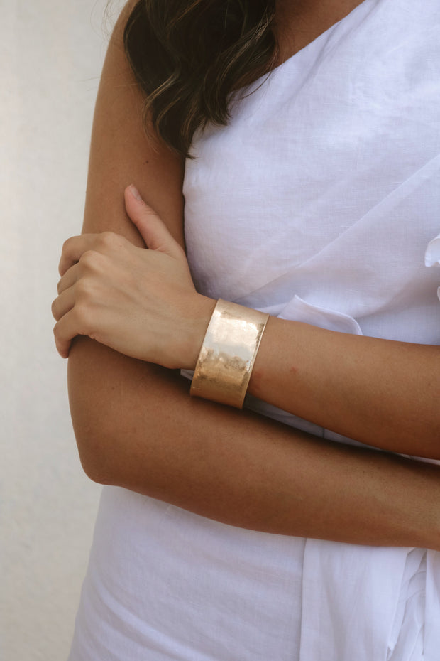 the mabel cuff bracelet - gold