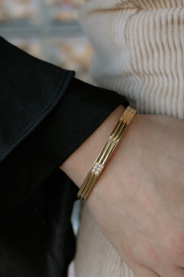 ellie vail: julia bracelet - gold