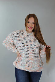 on wednesdays wear pink sweater - pink multi
