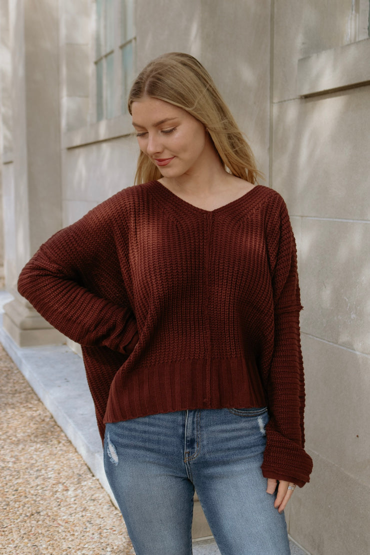 chilly weather sweater - sequoia
