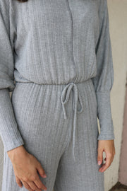 step it up jumpsuit - grey