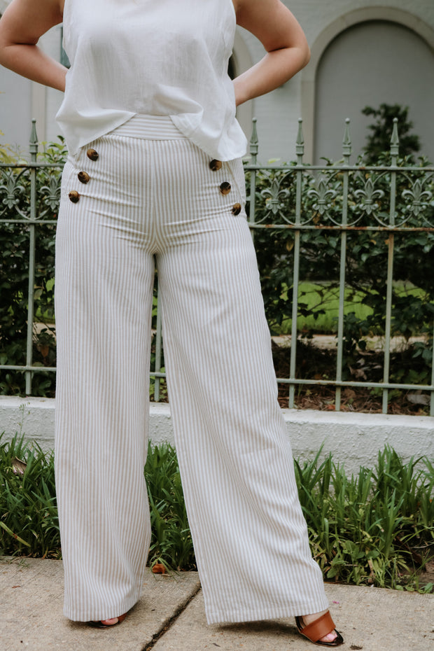 smart and sassy pants - beige