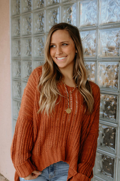 stay cozy girl sweater - sienna