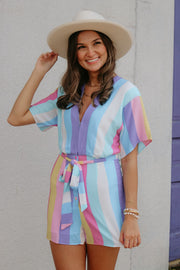 buddy love: the audrey romper - carnival