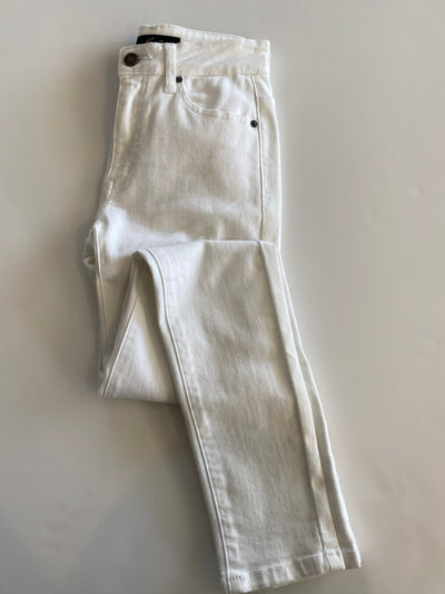 the allison petite jean - white denim