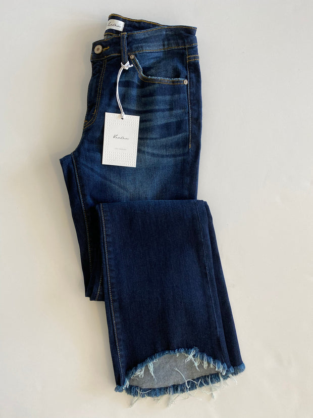 the katie jean - dark denim