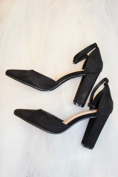 the nairobi heel - black