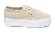 superga: cafe noir platform