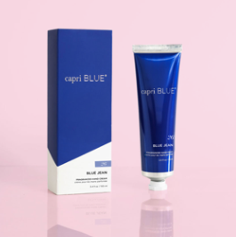 capri blue: 3.4 oz hand cream - blue jean
