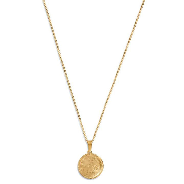 ellie vail: arlo st. benedict necklace - gold