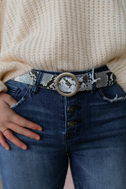 the caroline belt - black snake
