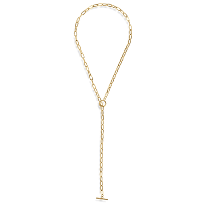 ellie vail: deb toggle necklace - gold