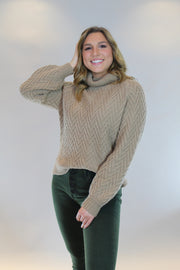 cuddle me close sweater - camel