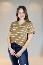 happy anywhere top- brown