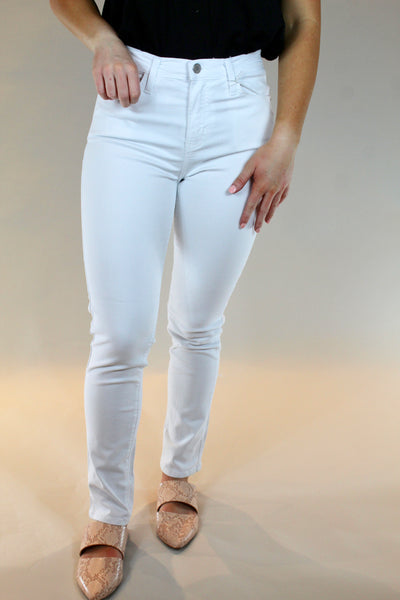 just black: the eleanor jean- bright white