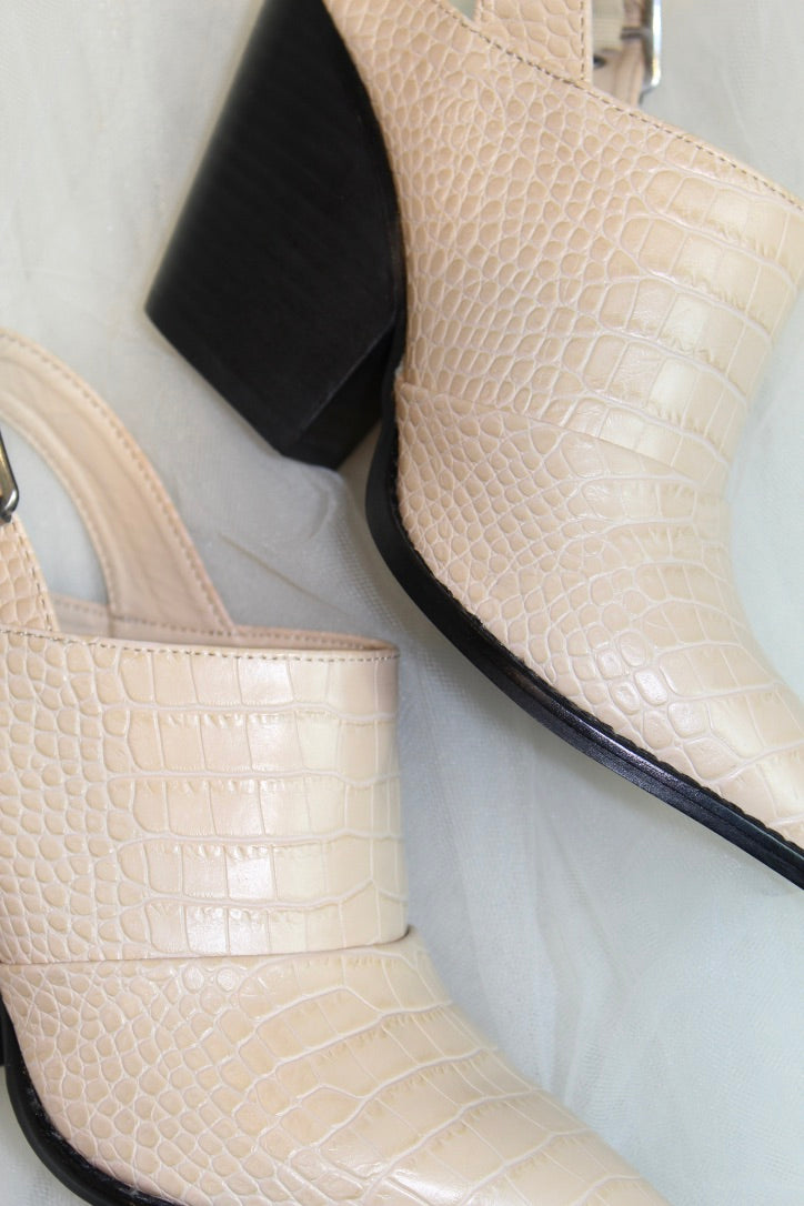 chinese laundry: the tilani bootie- khaki