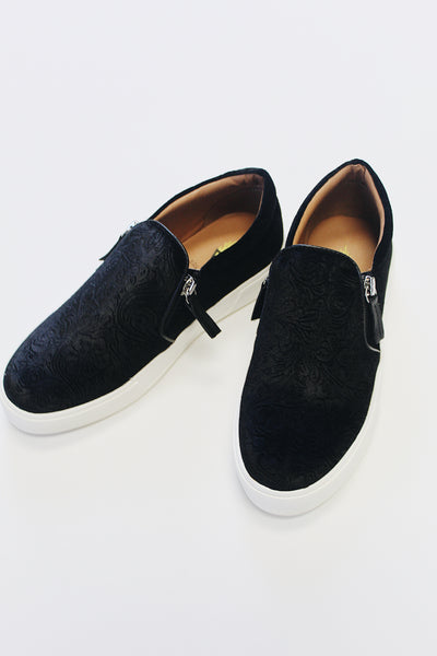 the patron sneaker - black