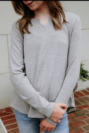 go-to comfy sweater - grey