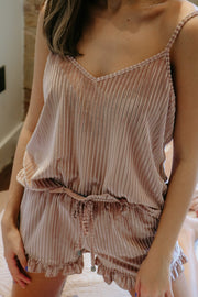 lovin every day cami - dusty pink
