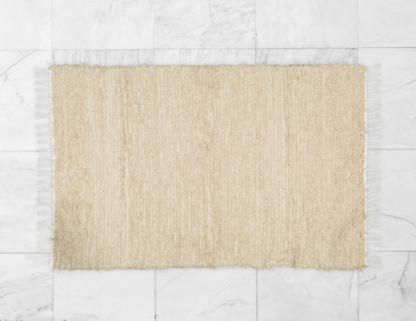 Cotton Fluffy Taupe Rug