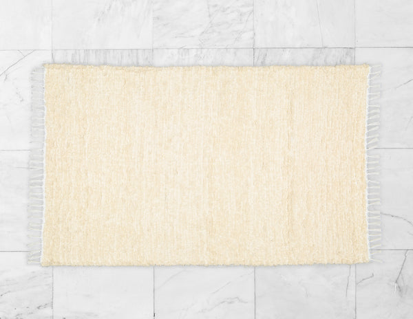 Cotton Fluffy Natural Rug - Amelia Jackson Industries South Africa