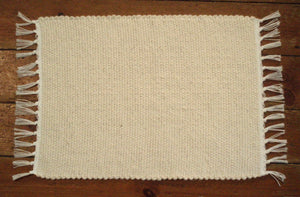 Placemat and Table runners dhurrie tabby Natural