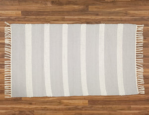 Plush Rug Option 1 Grey and Natural - Amelia Jackson Industries South Africa