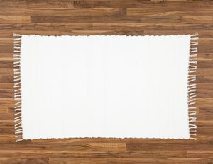 Rag Rug Twill White - Amelia Jackson Industries South Africa