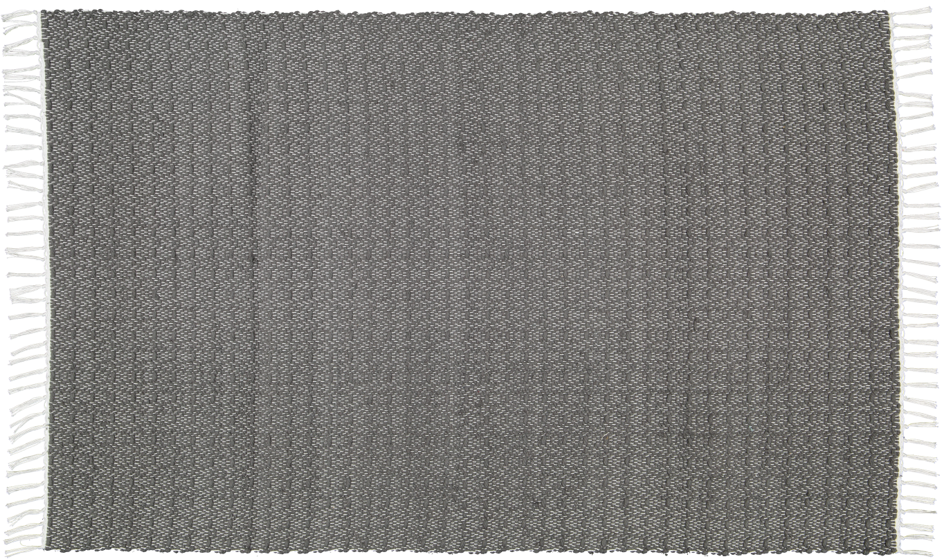 Cotton dhurrie twill Charcoal