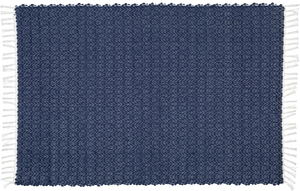 Cotton dhurrie twill Navy