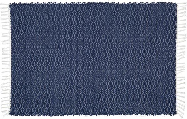Cotton Dhurrie Twill Navy - Amelia Jackson Industries South Africa