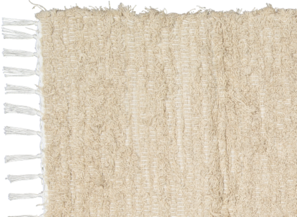 Cotton Fluffy Taupe Rug - Amelia Jackson Industries South Africa