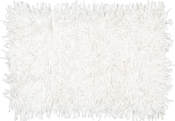 Shaggy White Rug - Amelia Jackson Industries South Africa