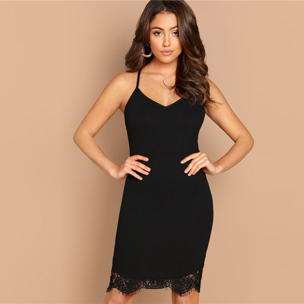 8a4cf0da8bf Sexy Little Black Contrast Dress – LUXE LEVEL BOUTIQUE