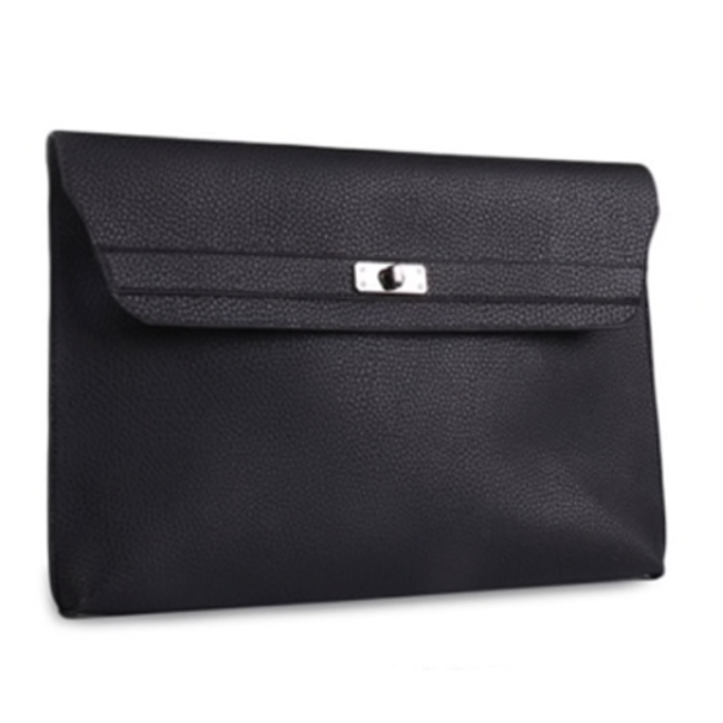 Women's Solid Color Envelope Clutch Bag