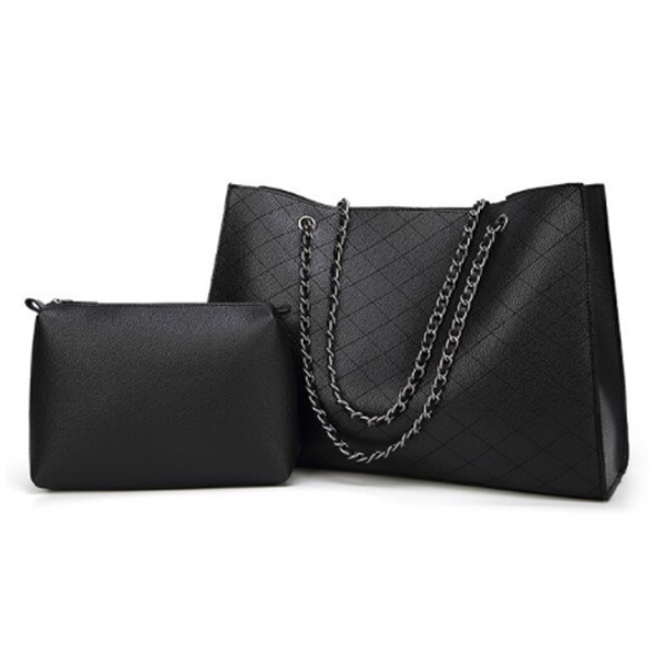 Womens' Black Handbag