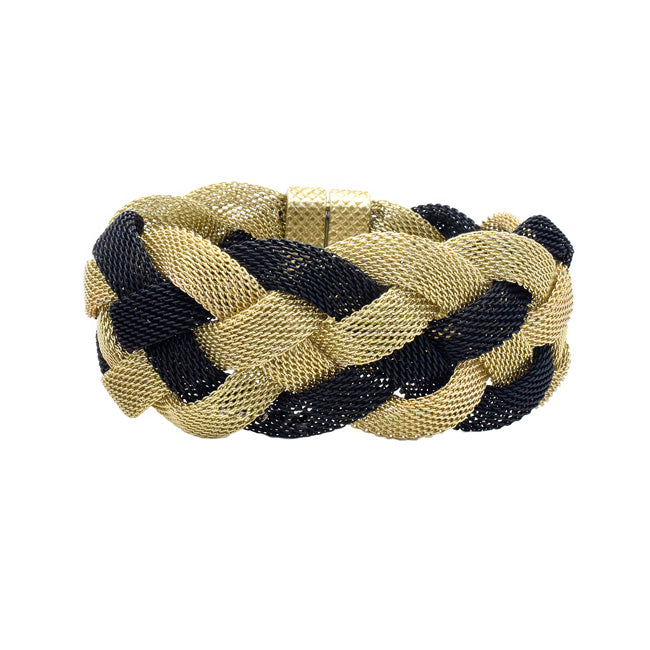 Twisted Mesh Magnetic Bracelet