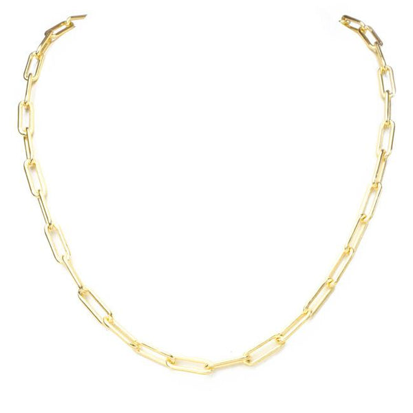Gold Filled Linked Chain Necklace