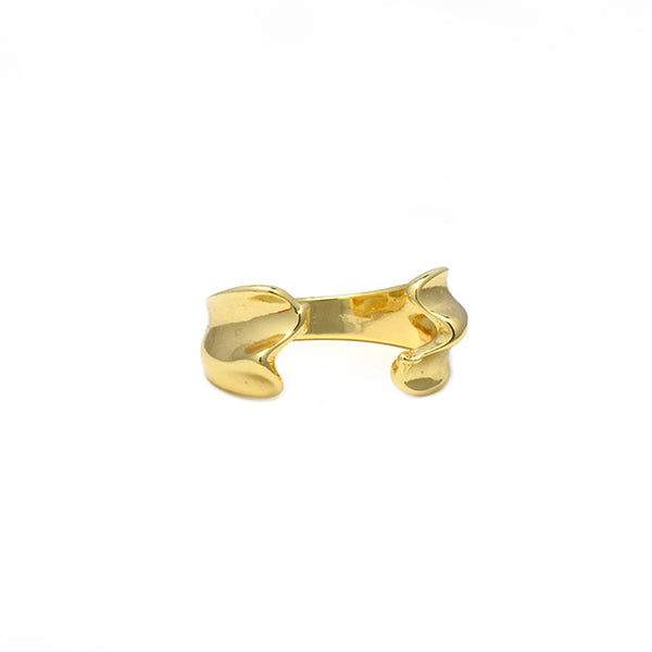 Gold Plated Adjustable Band Ring